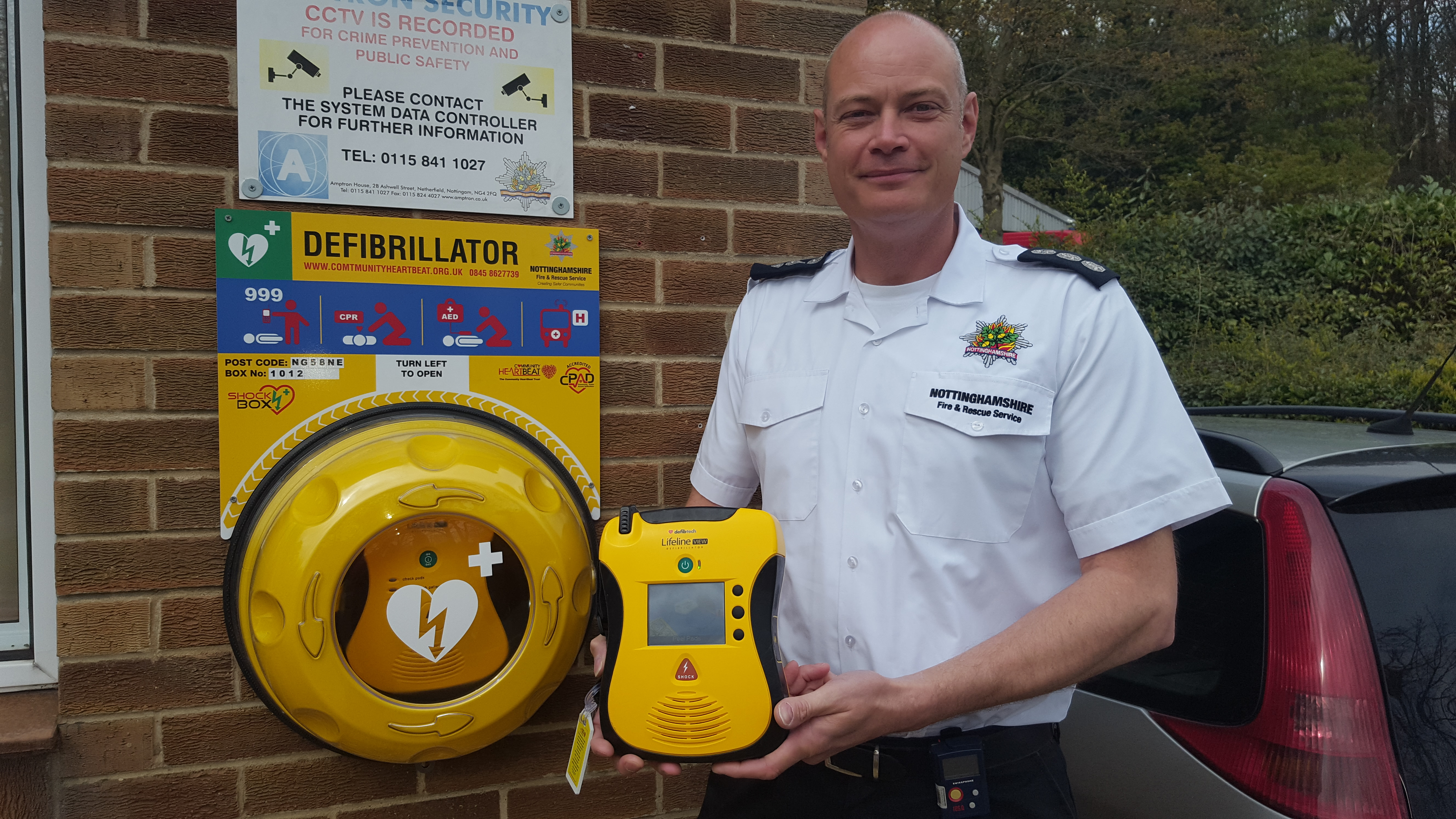 Unlocked Rotaid, part of our project with Notts Fire & Rescue