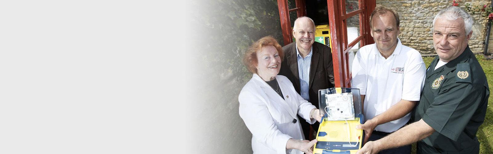 Community Heartbeat Defibrillator